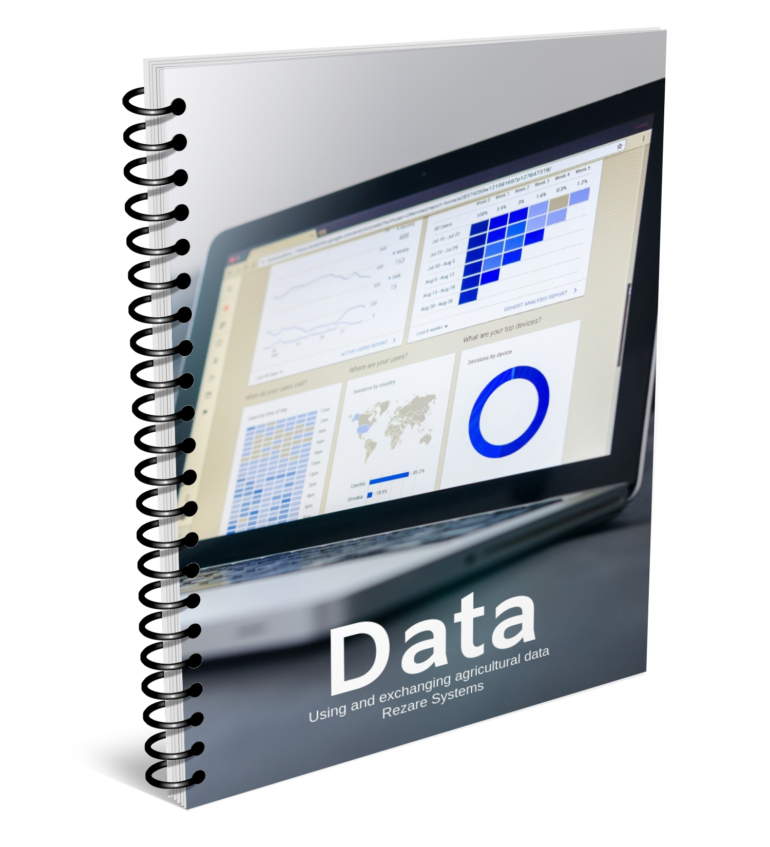 Data Landing Page Cover