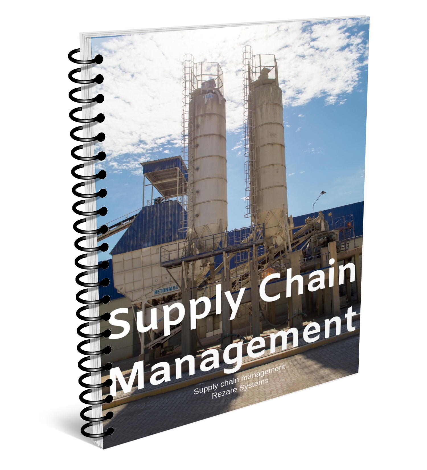 Supply chain Management Landing Page Cover